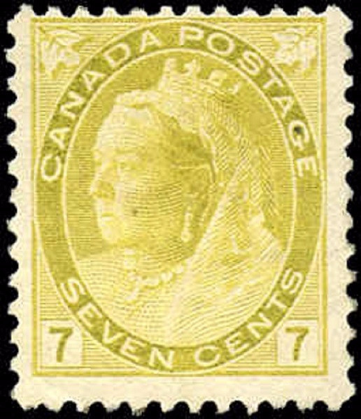 Canada ##81, Numeral Issue, F+, MH