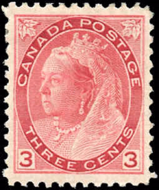 Canada ##78, Numeral Issue, VF, MH