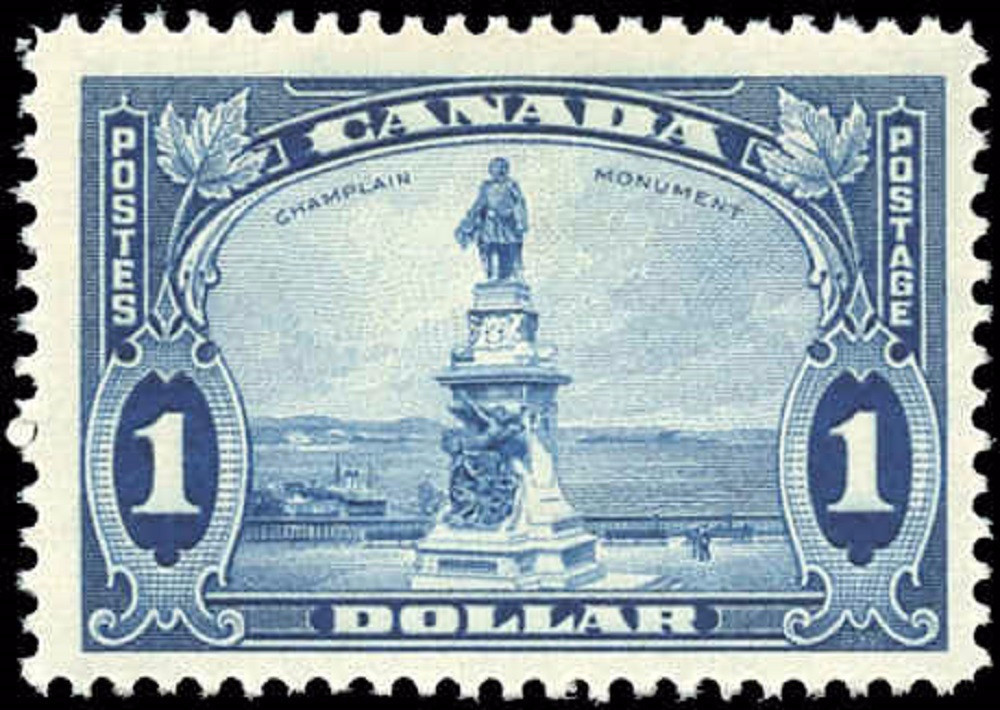 Canada #227, Pictorial Issue, F+, MH