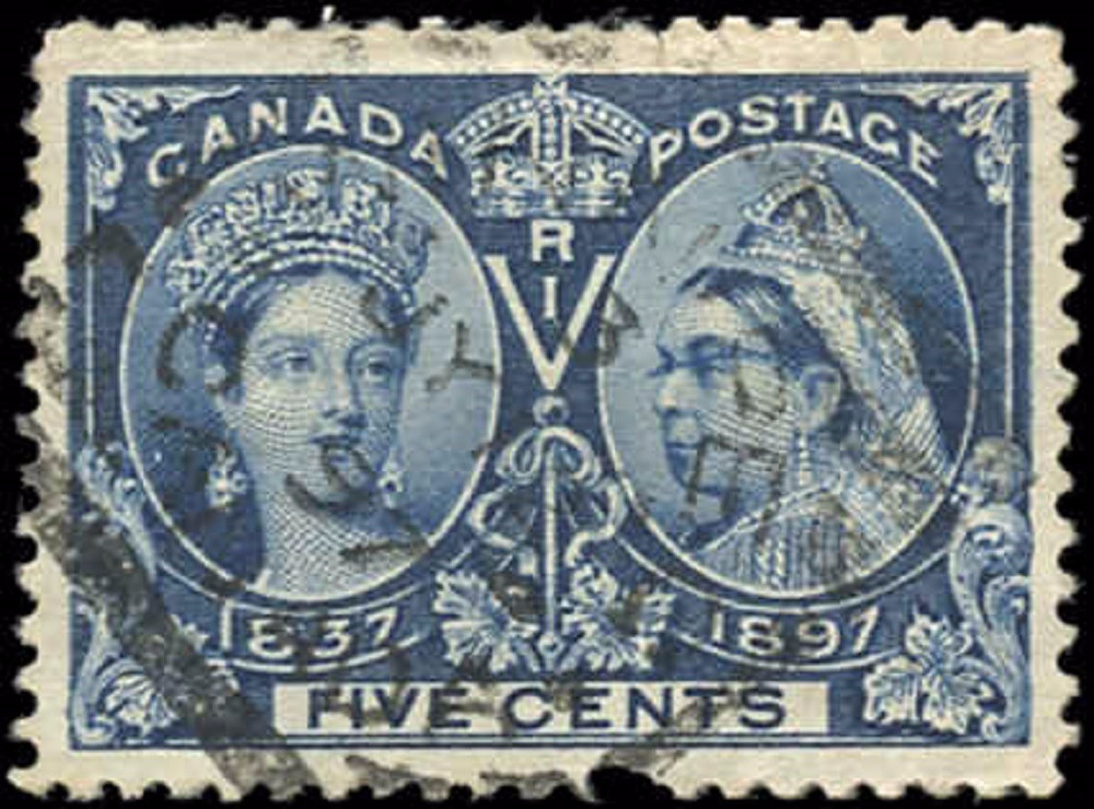 Canada ##54, Jubilee Issue, F-VF, Used