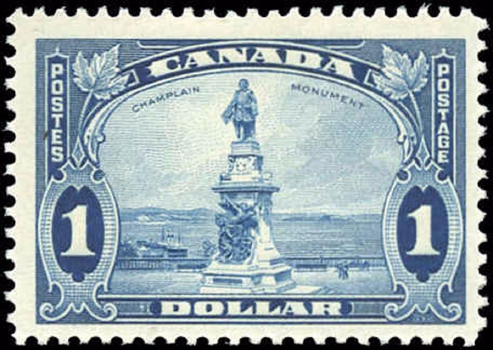 Canada #227, Pictorial Issue, F, MH