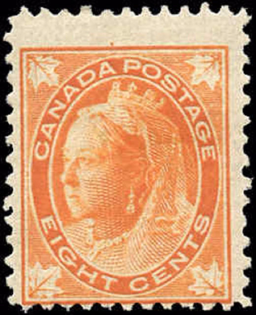 Canada ##72, Maple Leaf Issue, VG-F, MH