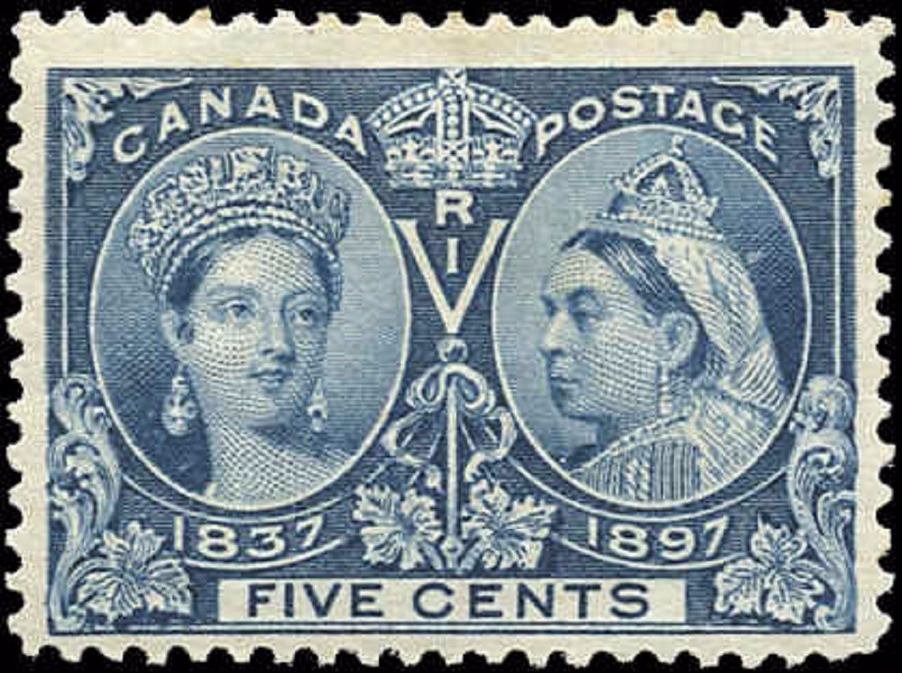Canada ##54, Jubilee Issue, F-VF, MH