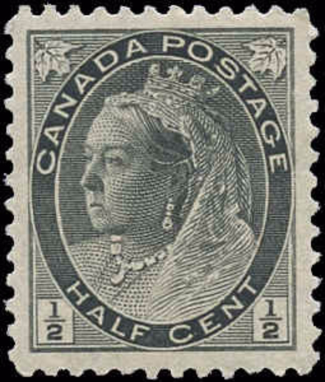 Canada ##74, Numeral Issue, VF, MNH