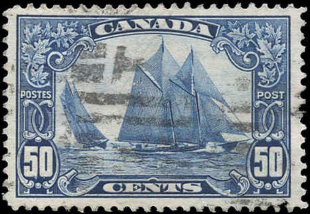 Canada #158, Scroll Issue, VF, Used