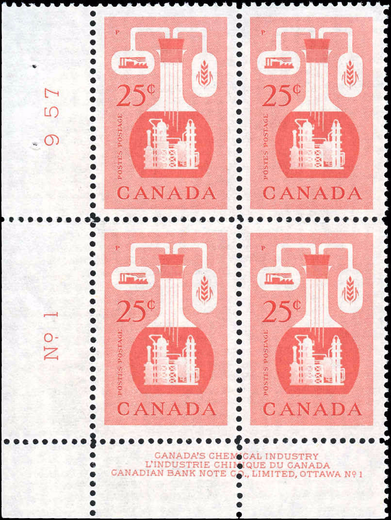 Canada #363, Industry Issue, VF, MNH