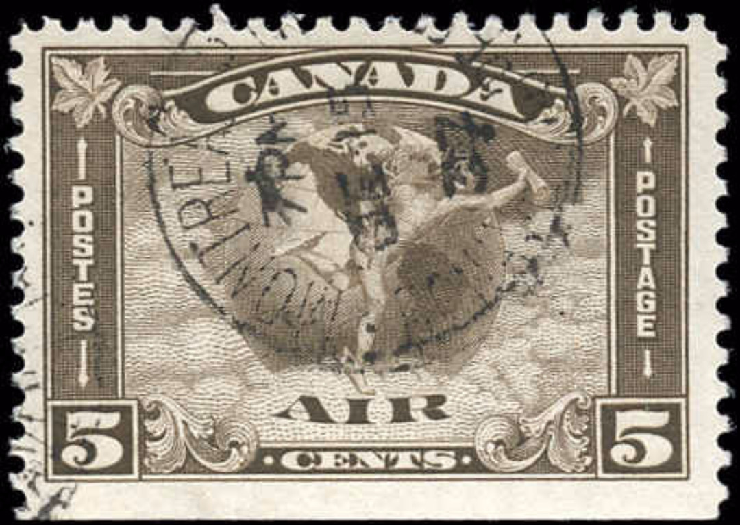 Canada #C2, Airmail Issue, F+, Used