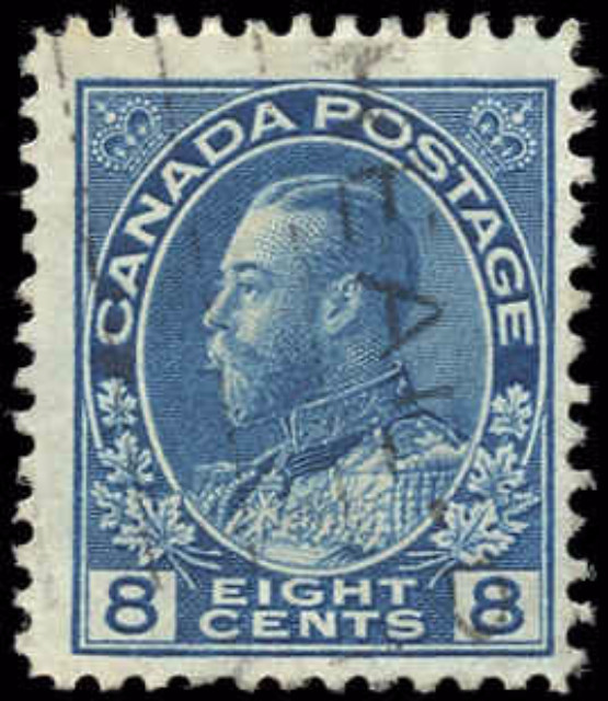 Canada #115, Admiral Issue, F, Used