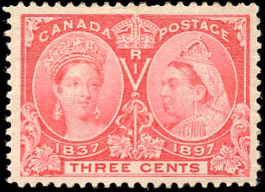 Canada ##53, Jubilee Issue, F-VF, MH