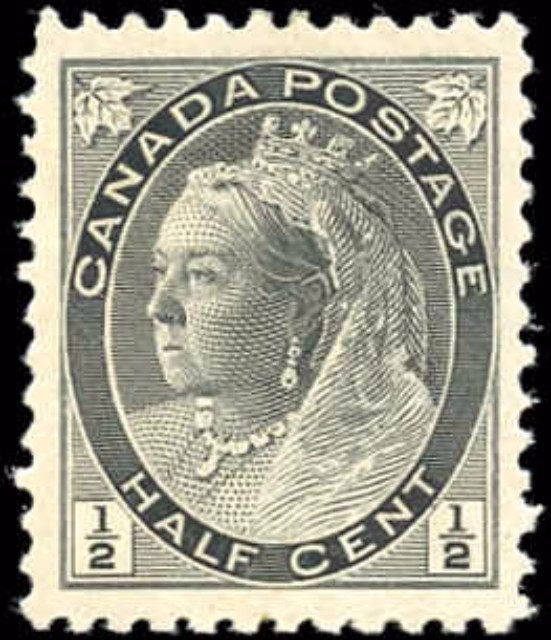 Canada ##74, Numeral Issue, F-VF, MH