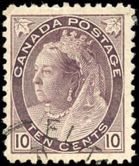 Canada ##83, Numeral Issue, F-VF, Used