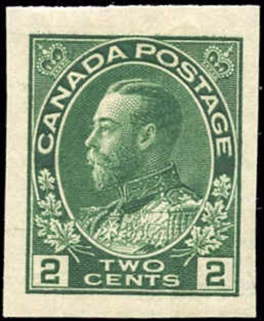 Canada #137, Admiral Issue, VF, MH