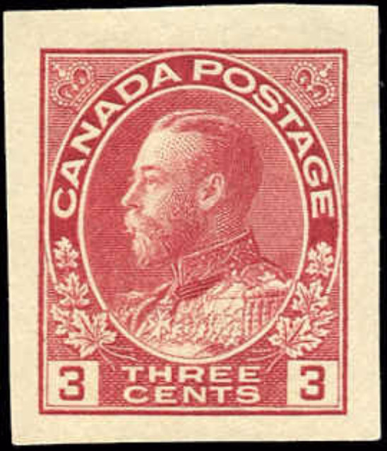 Canada #138, Admiral Issue, F-VF, MH