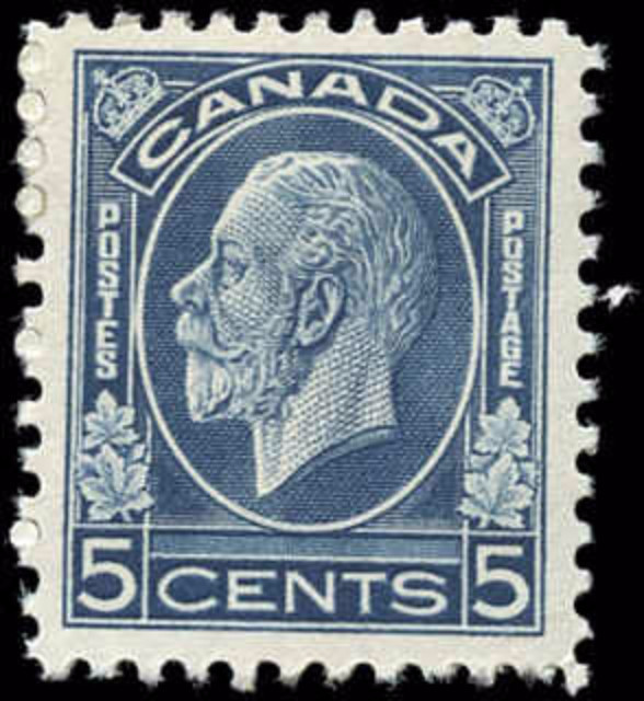 Canada #199, Medallion Issue, F-VF, MH