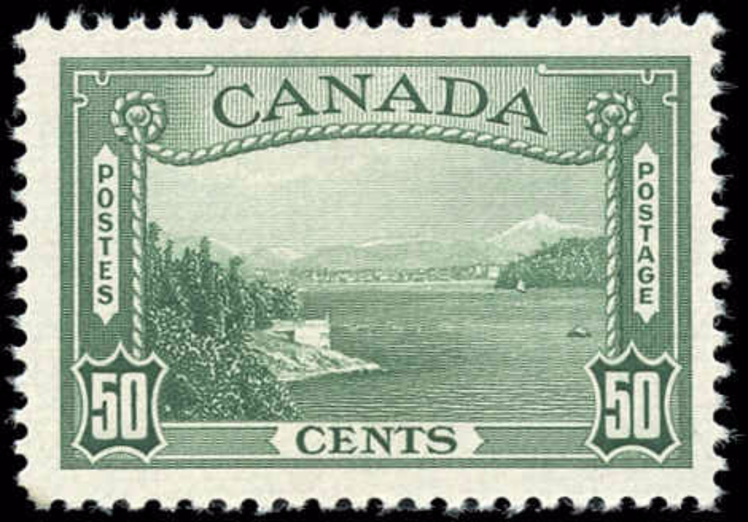 Canada #244, 1938 Pictorial Issue, F-VF, MH