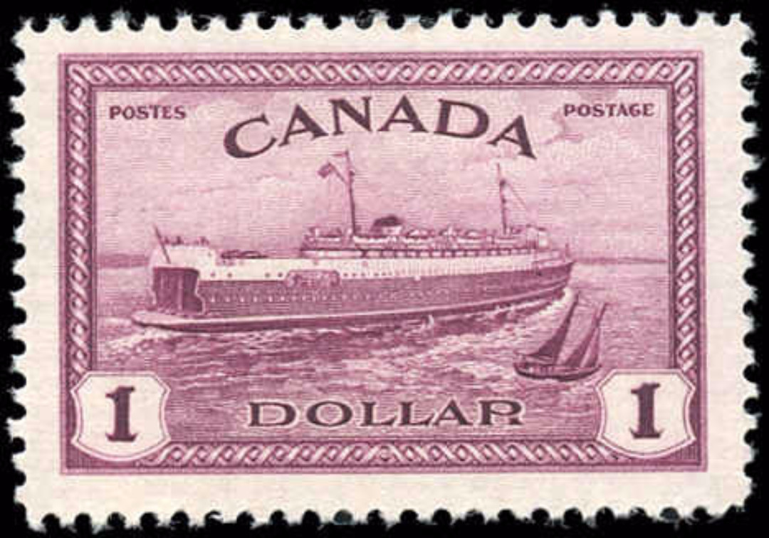 Canada #273, Peace Issue, F-VF, MH