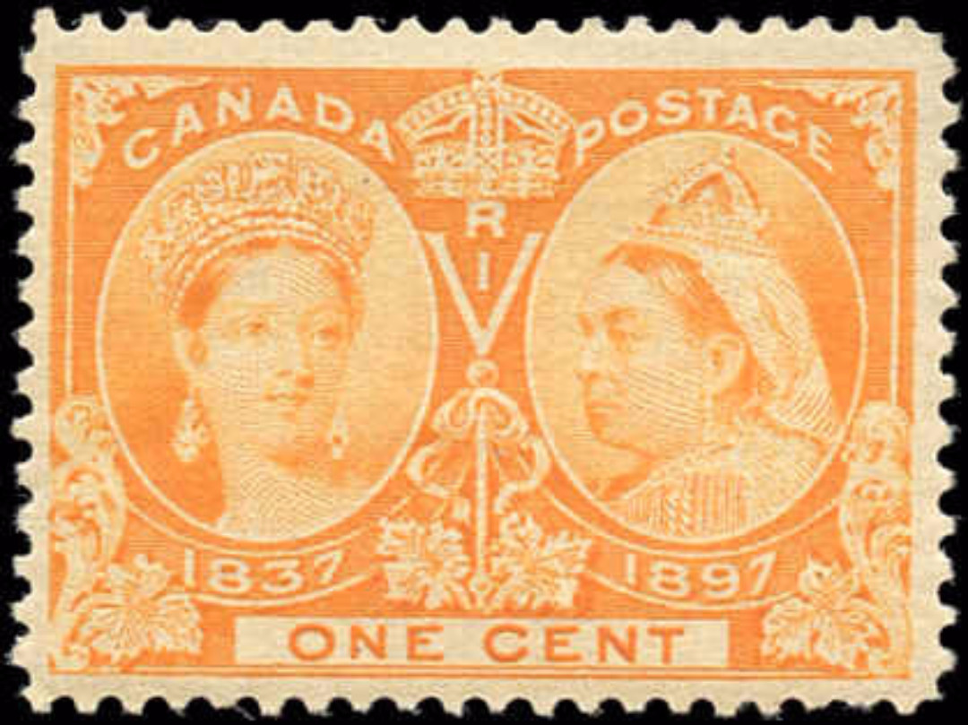 Canada ##51, Jubilee Issue, F, MH