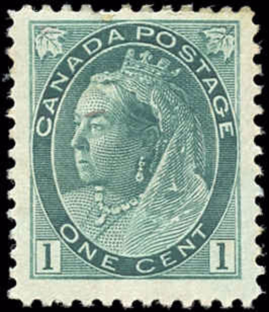 Canada ##75, Numeral Issue, F-VF, MH
