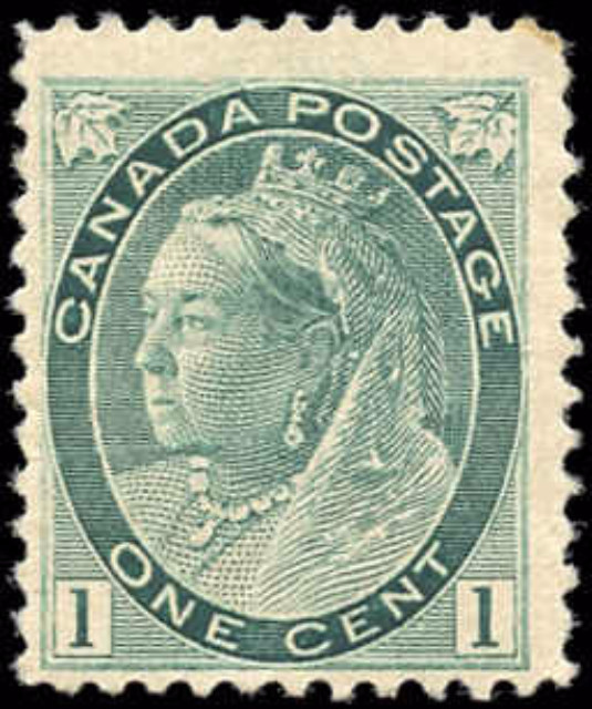 Canada ##75, Numeral Issue, F+, MNH