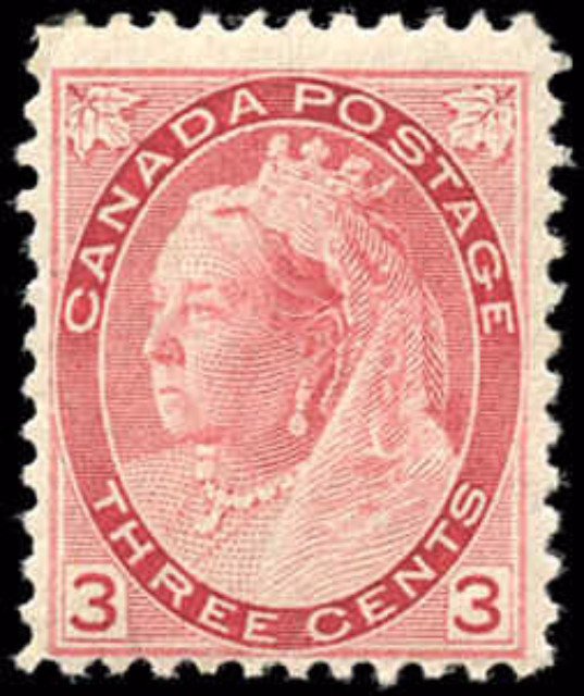 Canada ##78, Numeral Issue, F, MH