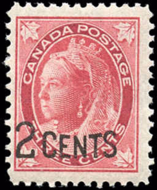 Canada ##87, Provisional Issue, F-VF, MNH