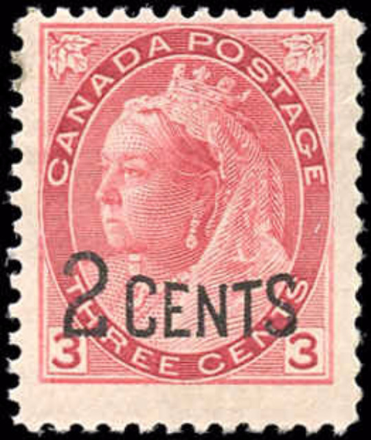 Canada ##88, Provisional Issue, F+, MH