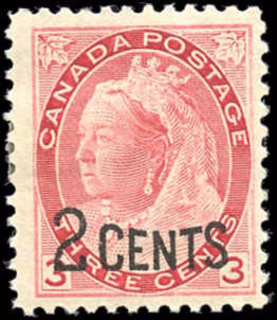 Canada ##88, Provisional Issue, F-VF, MH