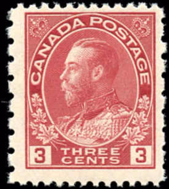 Canada #184, Admiral Issue, F+, MNH