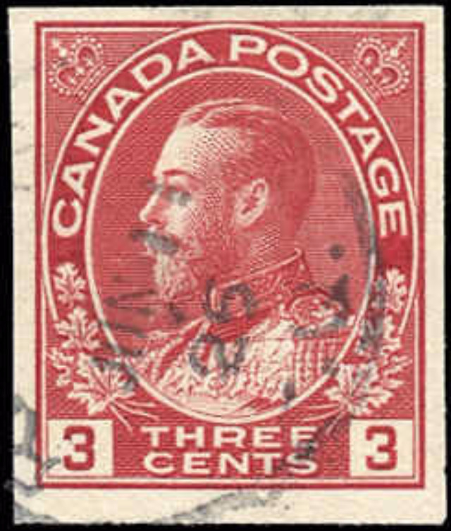 Canada #138, Admiral Issue, F-VF, Used