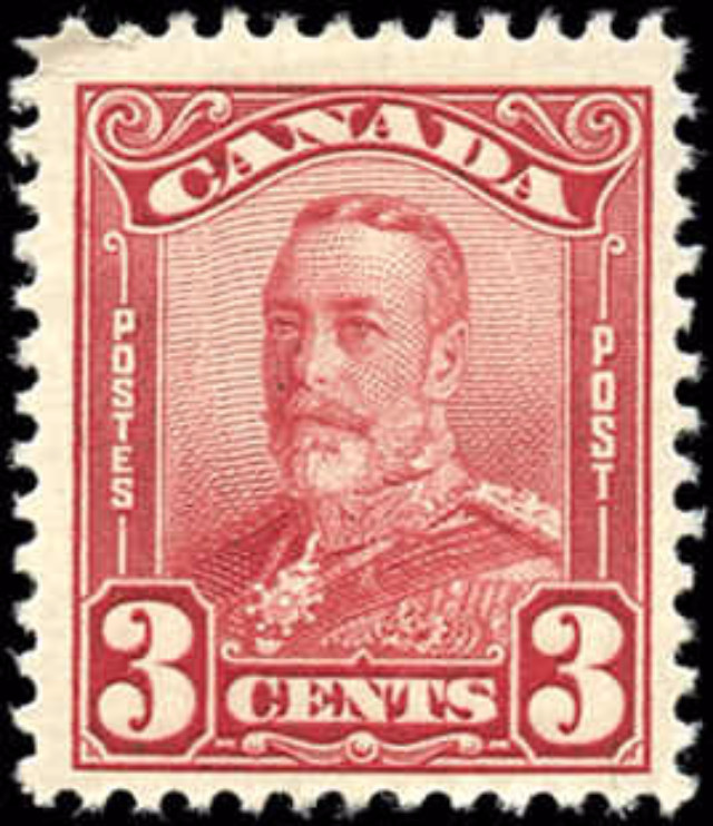 Canada #151, Scroll Issue, F+ MH
