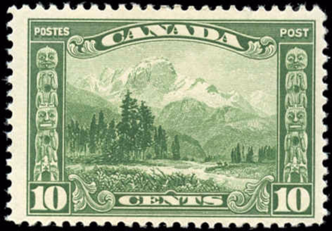Canada #155, Scroll Issue, F+, MH