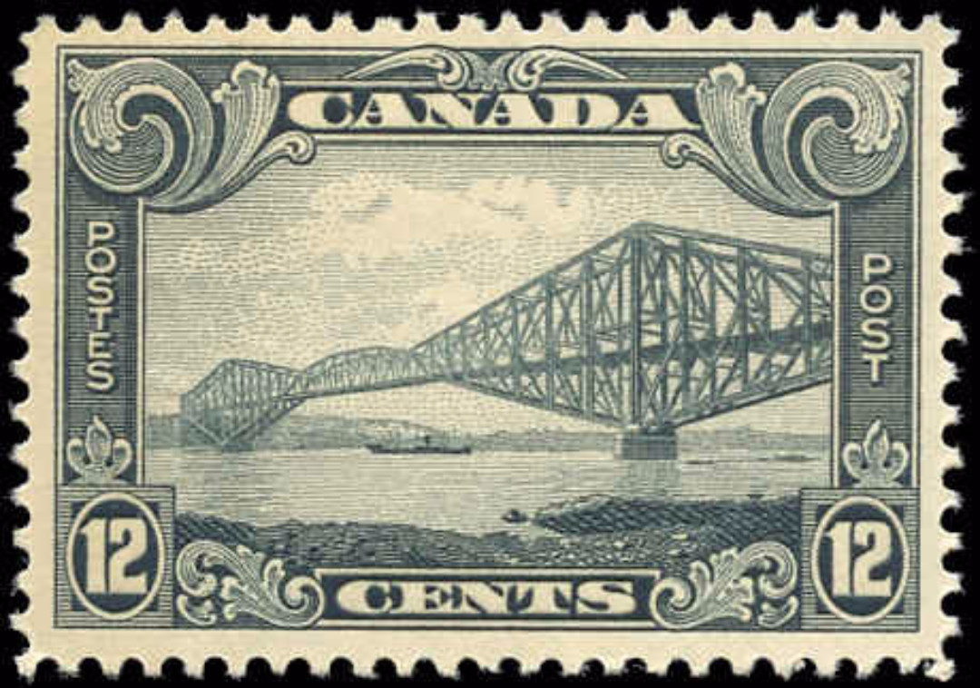 Canada #156, Scroll Issue, F-VF, MH
