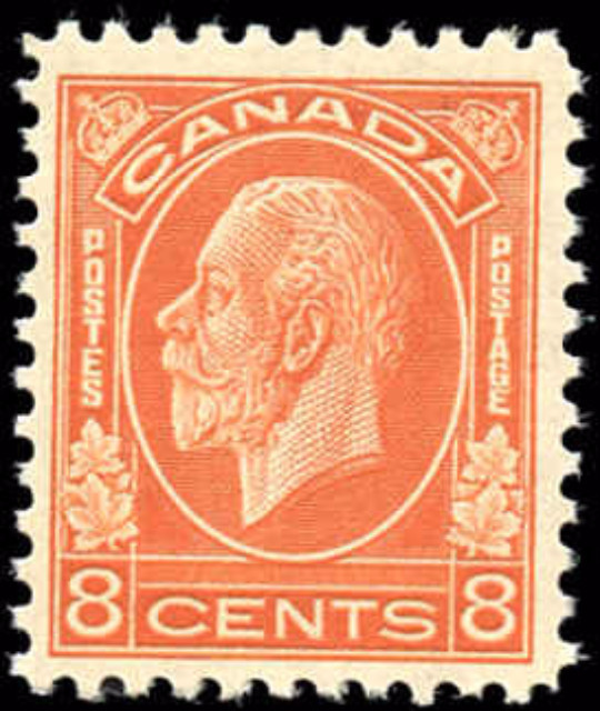 Canada #200, Medallion Issue, F-VF, MH