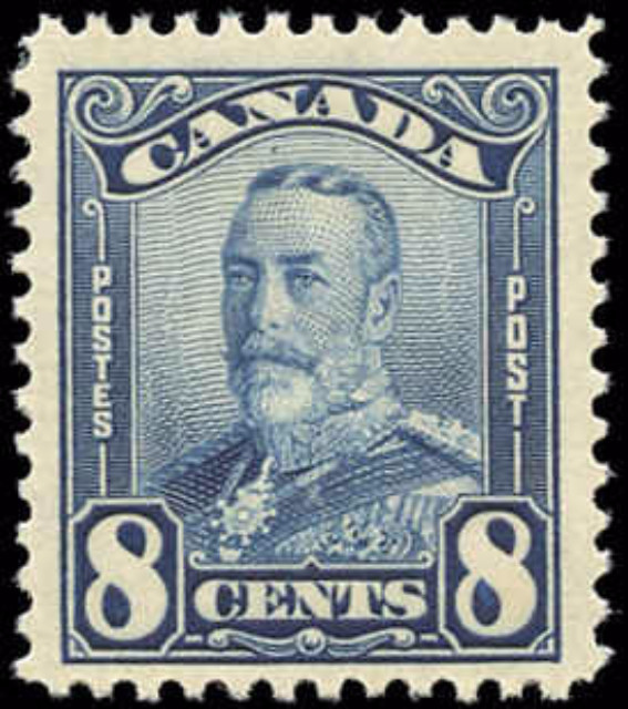 Canada #171, Arch/Leaf Issue, F-VF, MNH