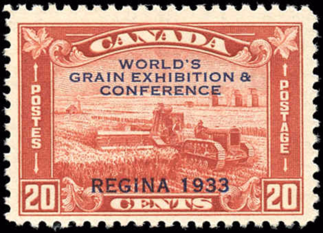 Canada #203, Grain Issue, F-VF, MH