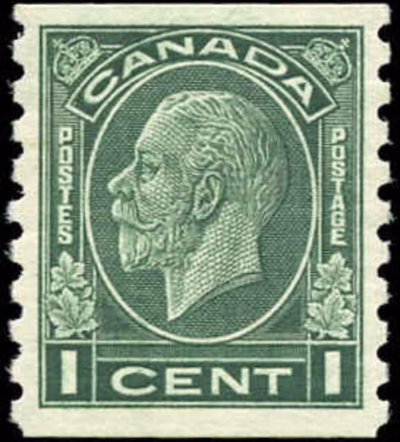 Canada #205, Coil Medallion Issue, F-VF, MH