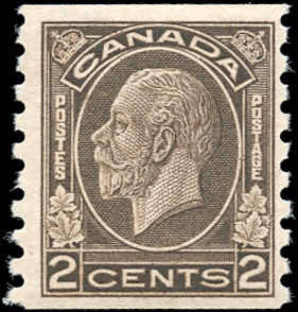 Canada #206, Coil Medallion Issue, F-VF, MNH