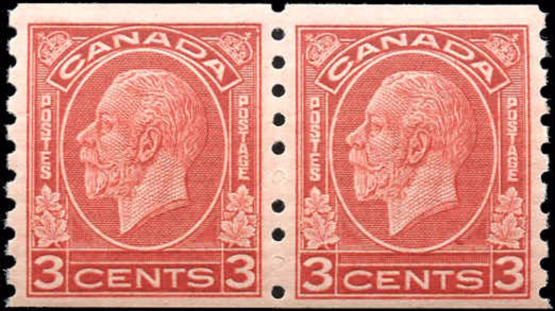 Canada #207, Coil Medallion Issue, F-VF, MNH