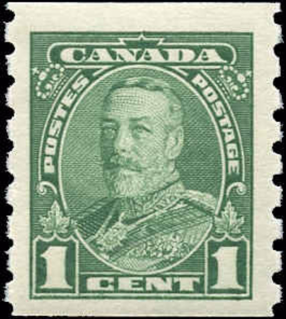 Canada #228, Coil Pictorial Issue, F-VF, MH