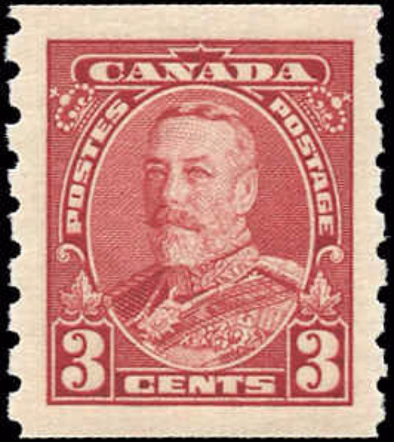 Canada #230, Coil Pictorial Issue, F-VF, MNH