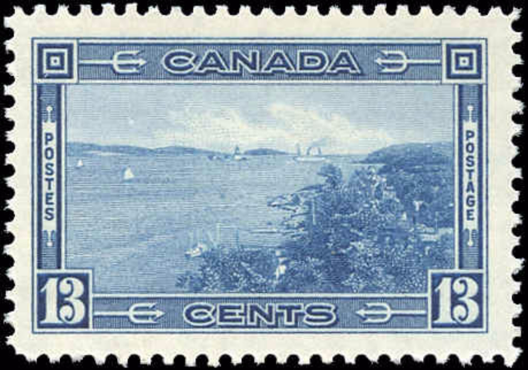 Canada #242, 1938 Pictorial Issue, F-VF, MH