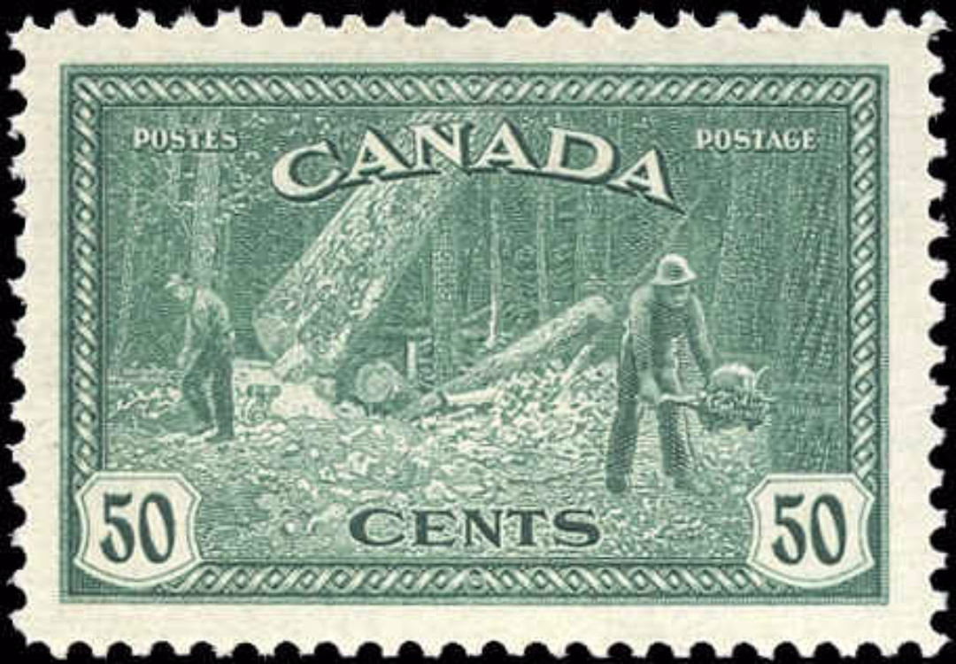 Canada #272, Peace Issue, F-VF, MNH