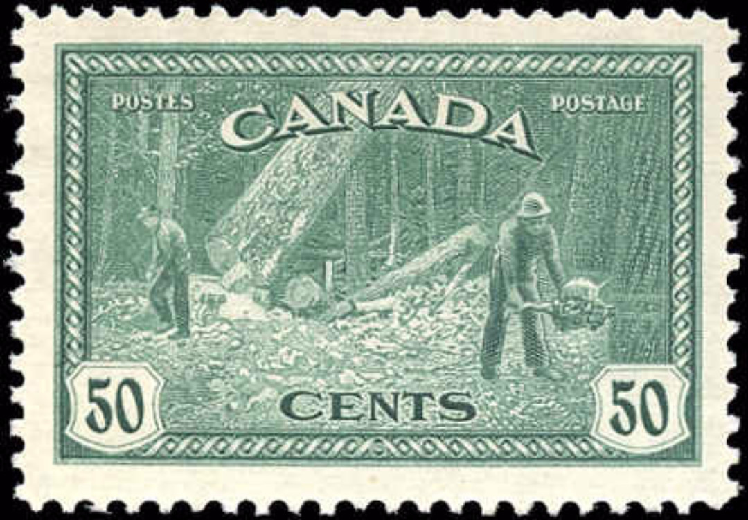 Canada #272, Peace Issue, F-VF, MH