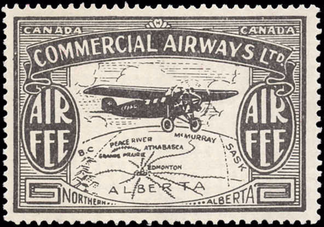 Canada #CL48, Air Post Semi-Offl, F-VF, MNH