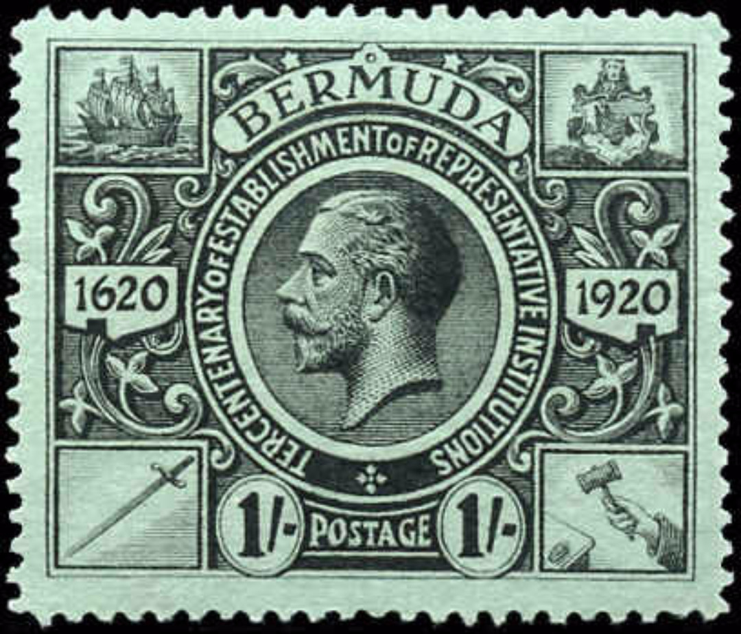 Bermuda ##79, F-VF, Mint-no gum
