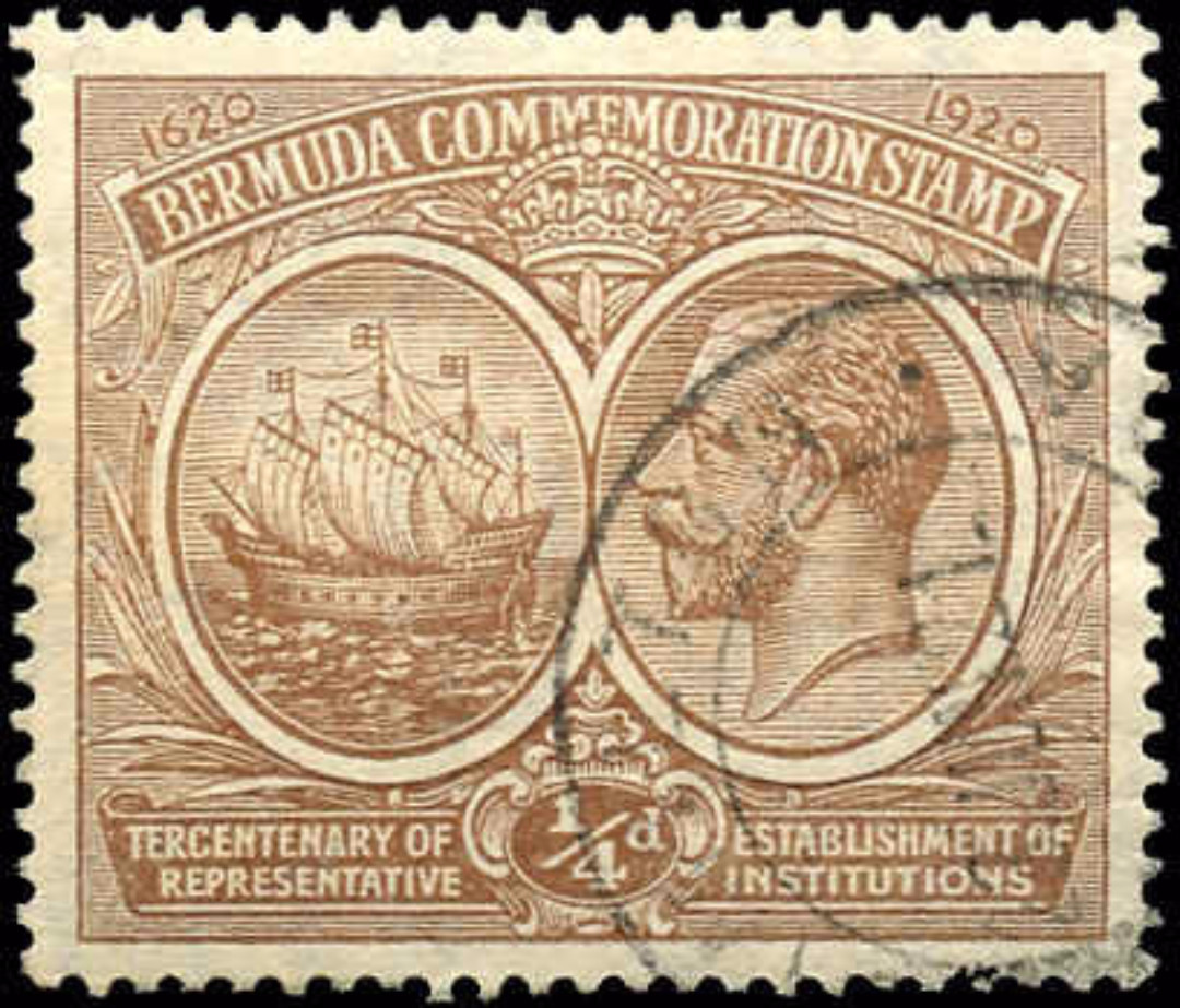 Bermuda Stamp, Scott ##55, F-VF, Used