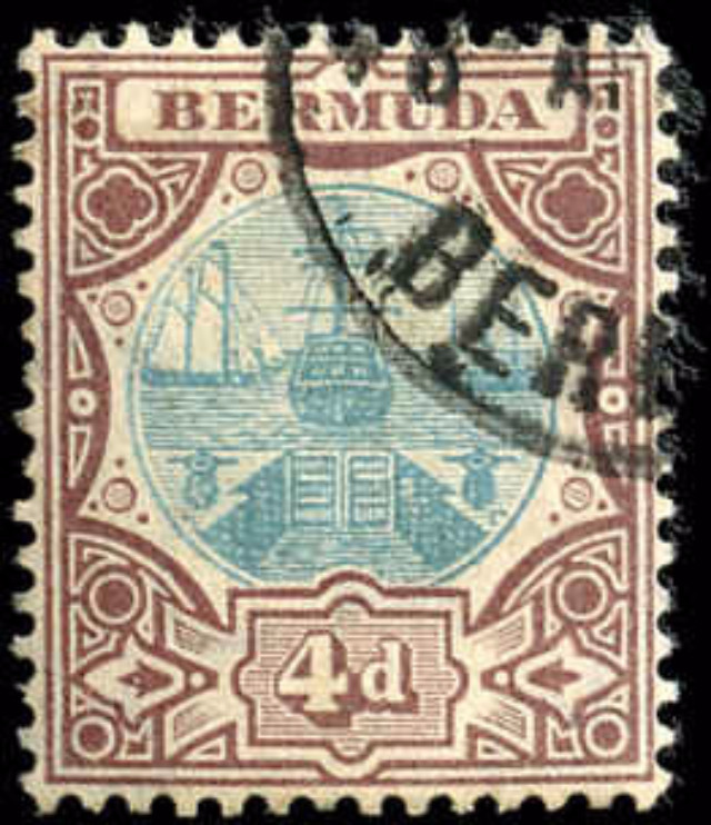Bermuda Stamp, Scott ##39, F-VF, Used