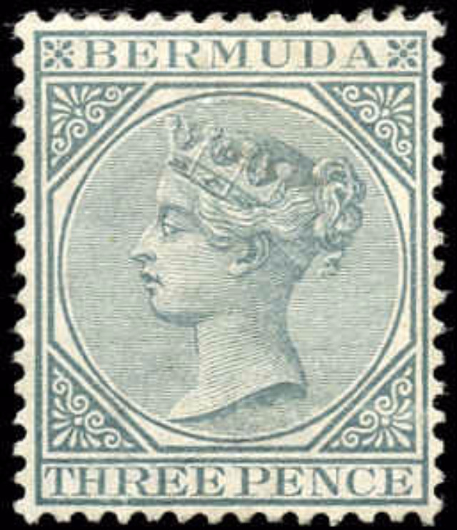 Bermuda Stamp, Scott ##23, F-VF, MH