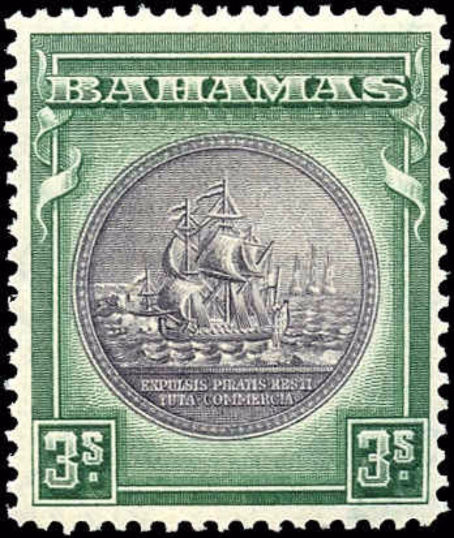 Bahamas Stamp, Scott ##91, F-VF, MH