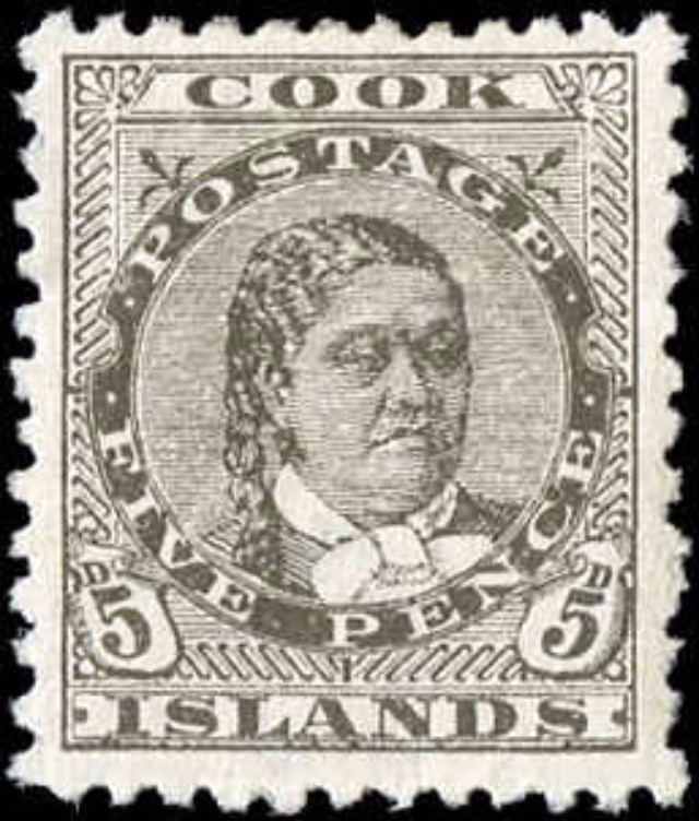 Cook Islands, ##21, F-VF, MH